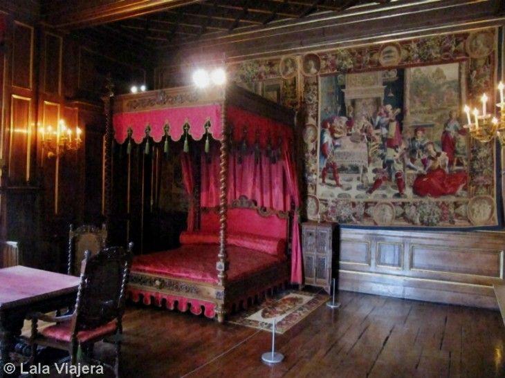 Dormitorio de Juana de Albret, Castillo de Pau