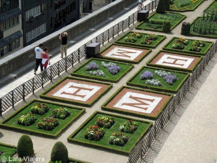 Jardines del Castillo de Pau