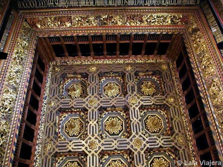 Artesonado Salon del Trono, Palacio de la Aljaferia