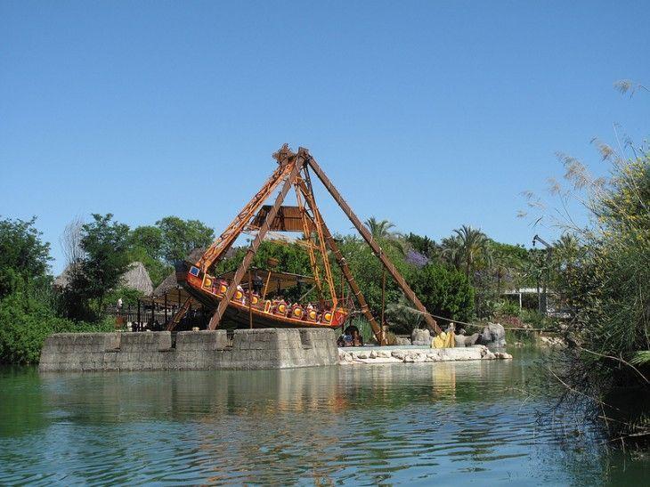 Parque de atracciones Isla Mágica en Sevilla