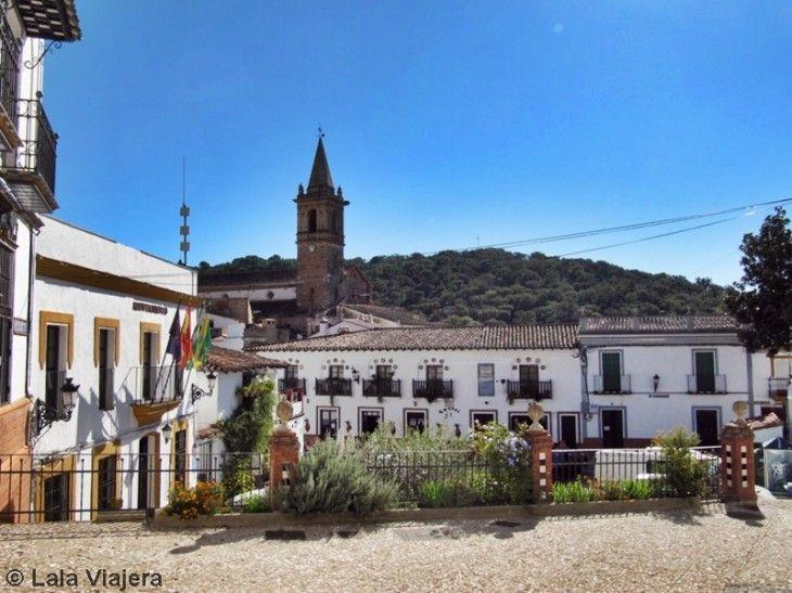 Plaza España de Alájar