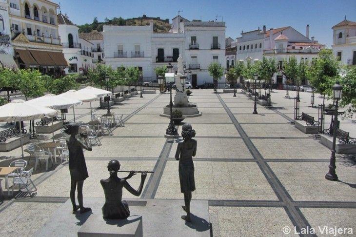 Plaza del Marqués de Aracena, en Aracena