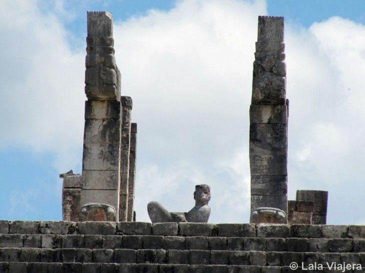 Estatua de Chac Mool en Chichen Itza