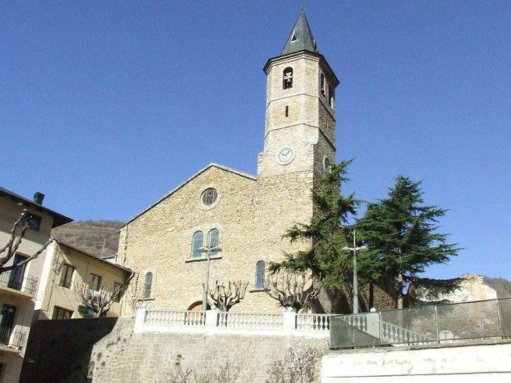 Iglesia de Sant Feliu de Sort, by Gustau Erill i Pinyot, CC-BY-SA-3.0
