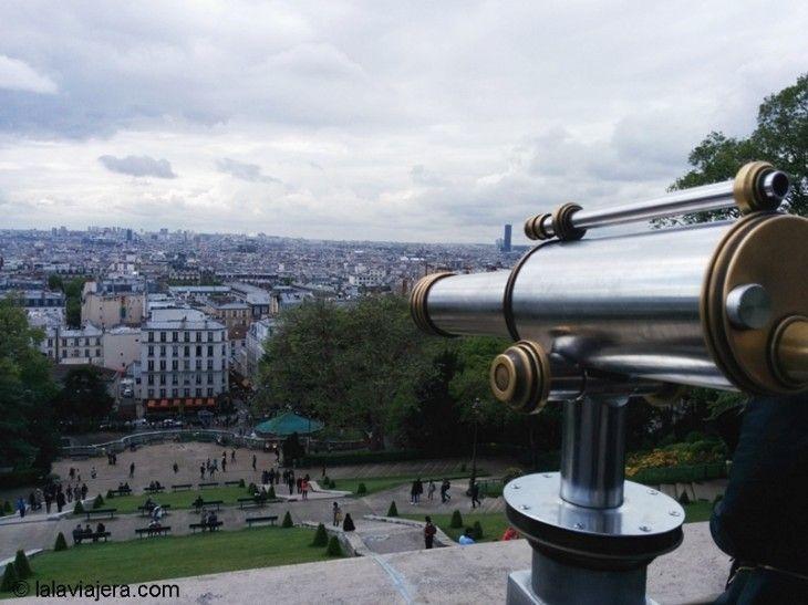 La colina de Montmartre, el mirador de Amélie