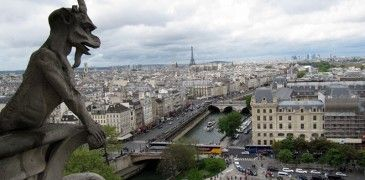 Miradores de París desde la Torre de la Catedral de Notre Dame