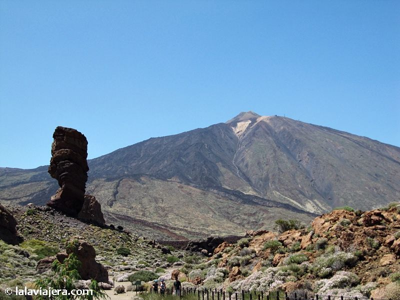 El Teide y los Roques de García, Tenerife
