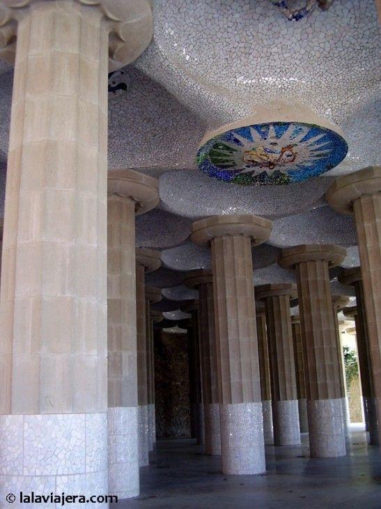 Sala Hipóstila del Parque Güell