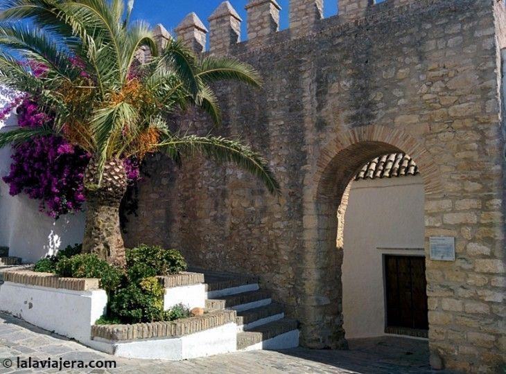 Arco de Puerta Cerrada, uno de los rincones más pintorescos de Vejer