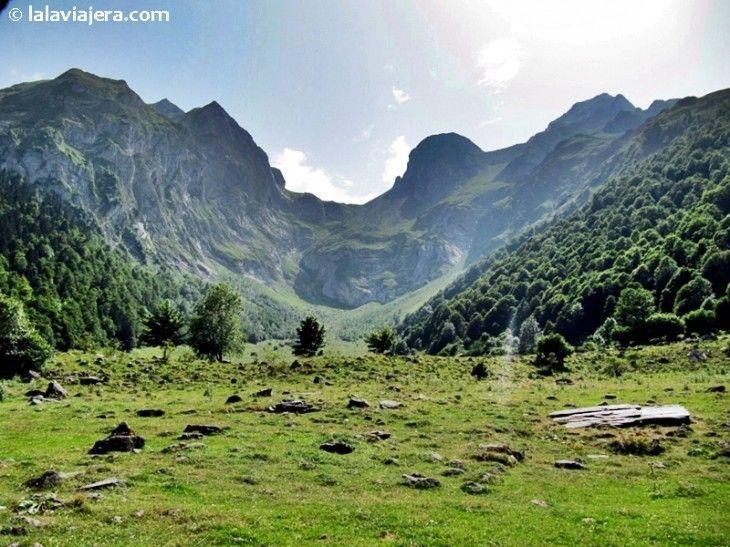 El macizo Maladeta Aneto desde Còth deth Hòro, Valle de Arán