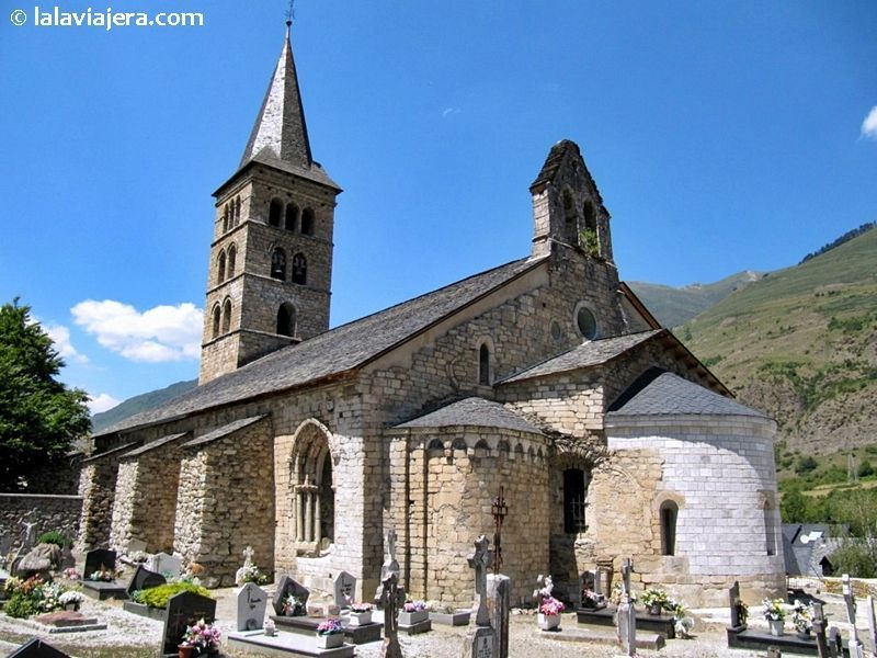 Ruta del románico de Arán: Iglesia de Santa Mª de Arties