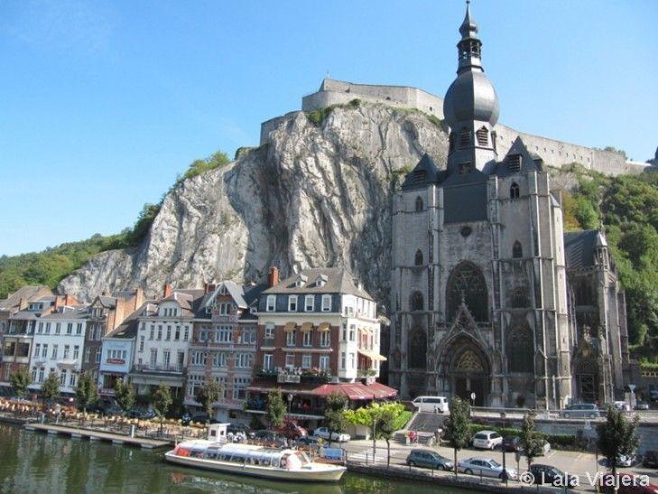 Panorámica de Dinant, Belgica
