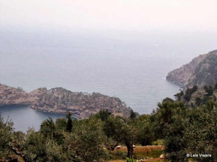 Los acantilados de Deia, Mallorca