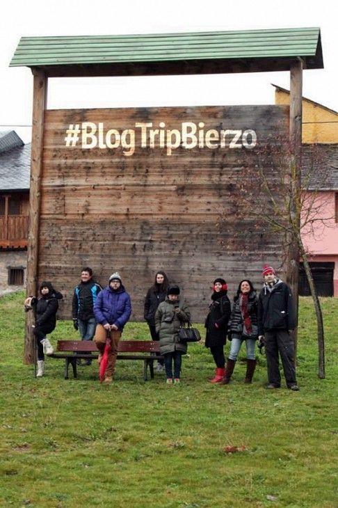 El equipo del #BlogTripBierzo