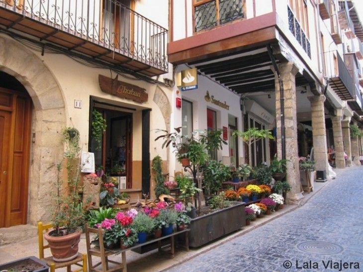 Soportales de la Calle Blasco de Alagón de Morella