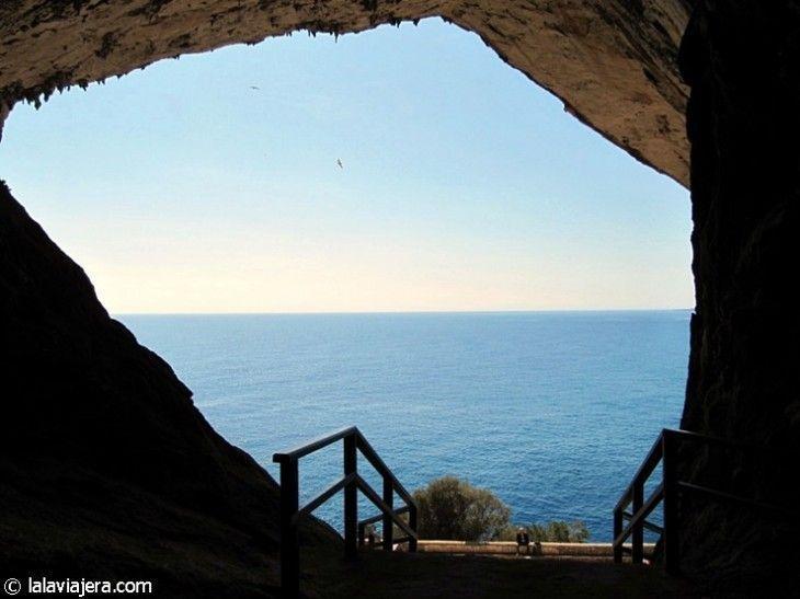 Salida de las Cuevas de Artá