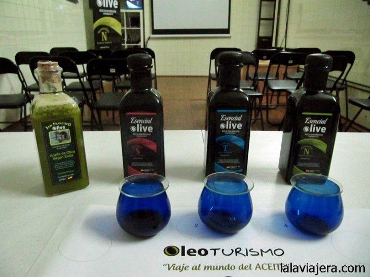 Cata de aceite de oliva virgen extra