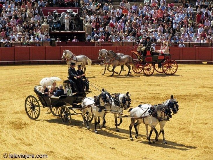 Desfile de Enganches y Carruajes en La Maestranza de Sevilla