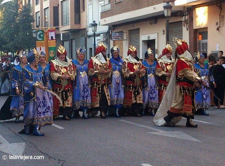Desfile histórico en la Feria de Julio, Valencia