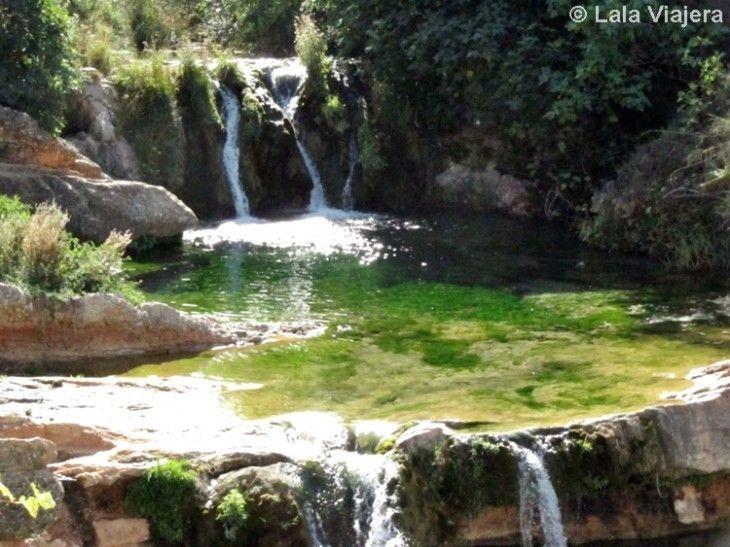 Font de la Rabosa, piscina natural del río Matarranya en Beceite