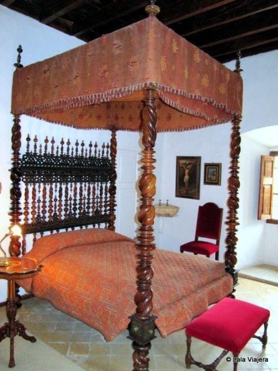 La habitación del Archiduque Luis Salvador de Austria en Son Marroig