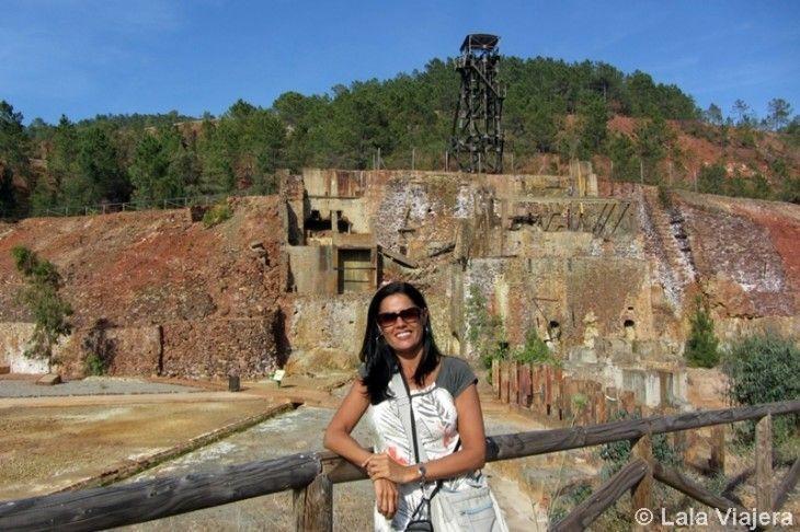 Visitando Peña del Hierro, en la comarca de Riotinto