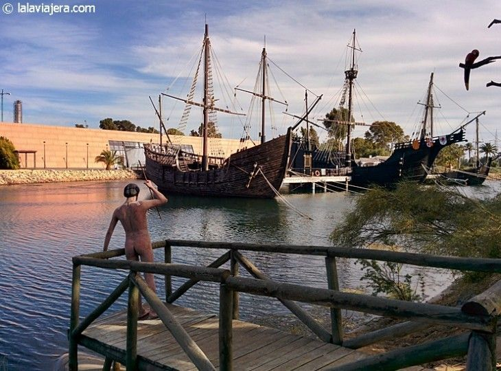 Descubre Huelva: Muelle de las Carabelas