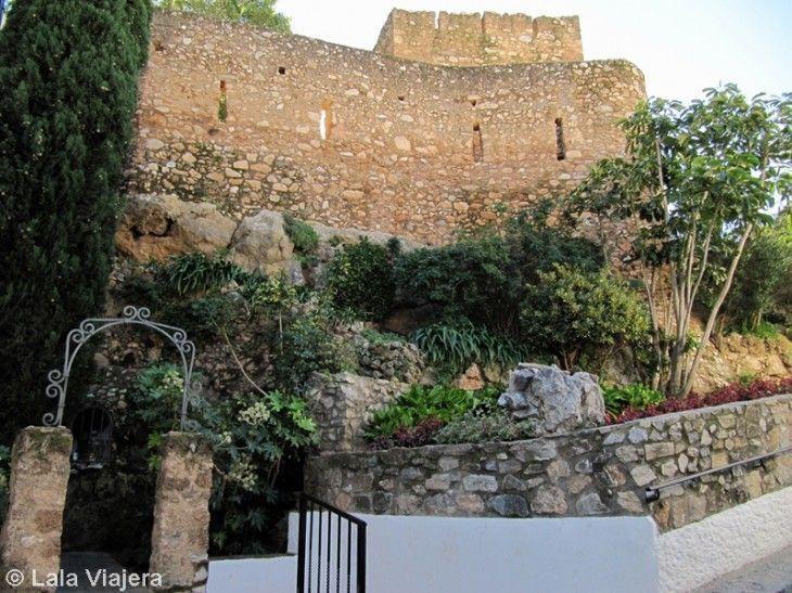 Muralla y castillo de Mijas