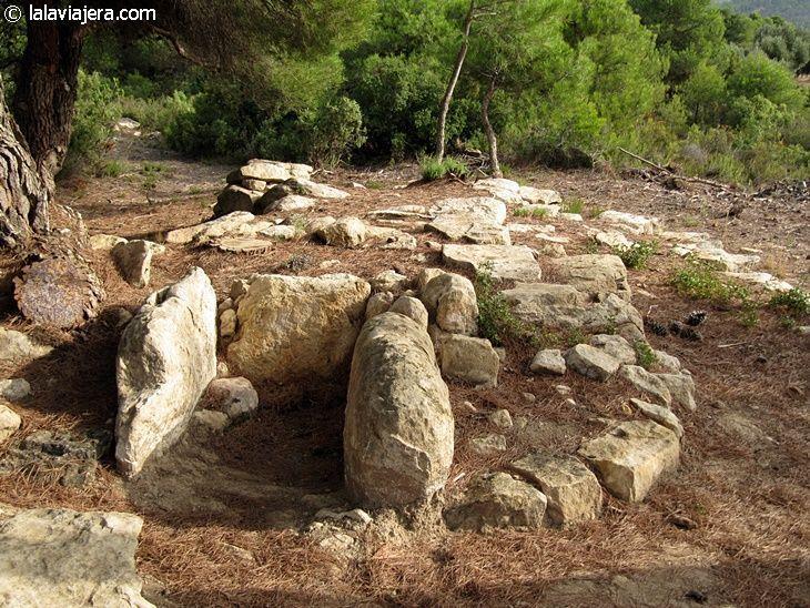 Ruta de los túmulos funerarios del Matarranya