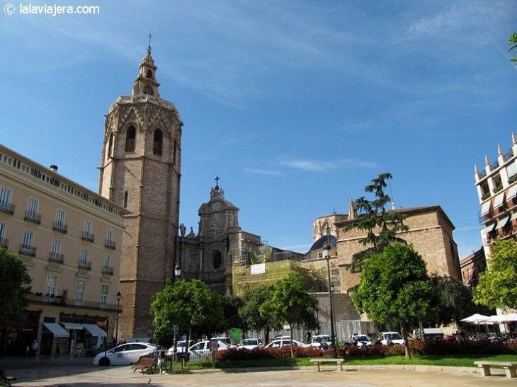 Catedral de Valencia, en la Plaza de la Reina