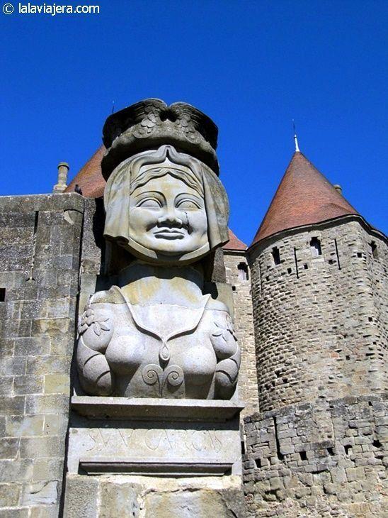 La Dama de Carcas que da nombre a Carcassonne