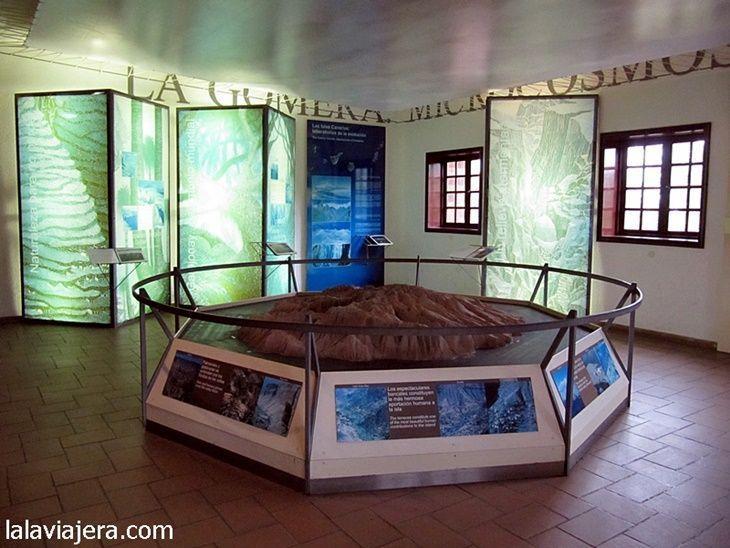 Exposición del Centro de Visitantes de Garajonay