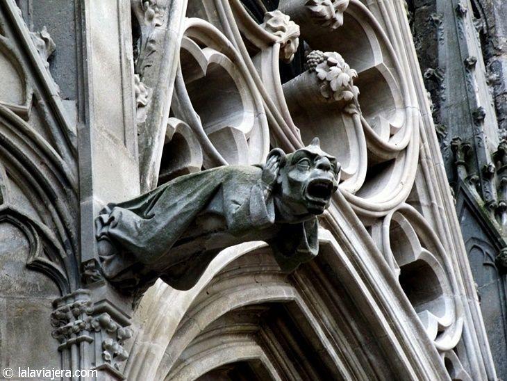 Gárgolas de la Basílica de Saint-Nazaire, Carcassonne