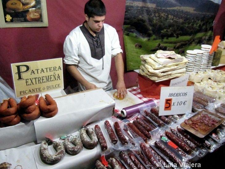 Productos gastronómicos del Mercado Colombino de Huelva