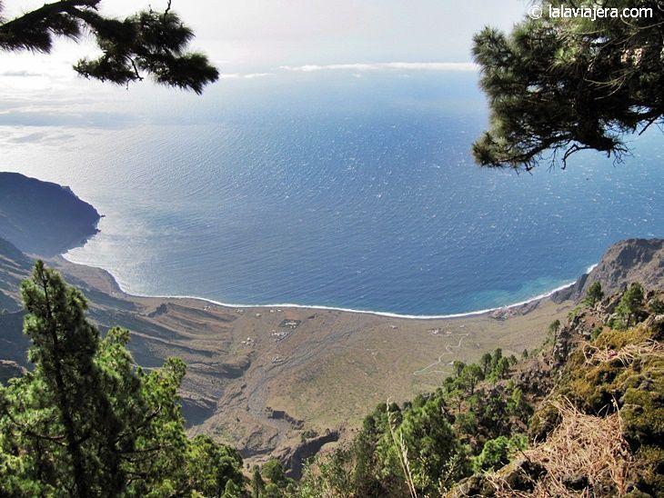 Panorámica desde el mirador de Las Playas, El Hierro