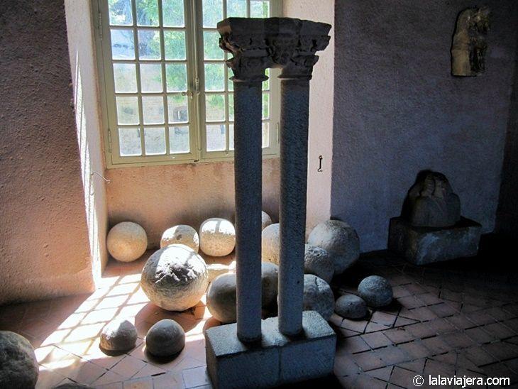 Museo Lapidario, en el interior del castillo