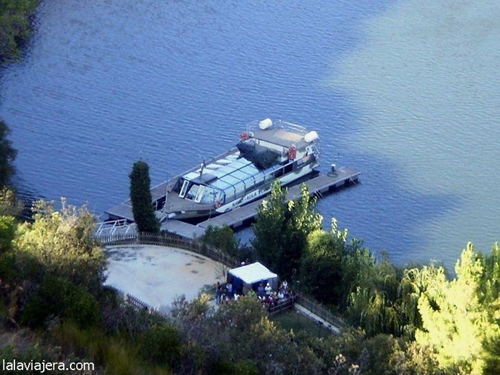 Embarcadero de la Estación Biológica Internacional, Arribes del Duero en Portugal