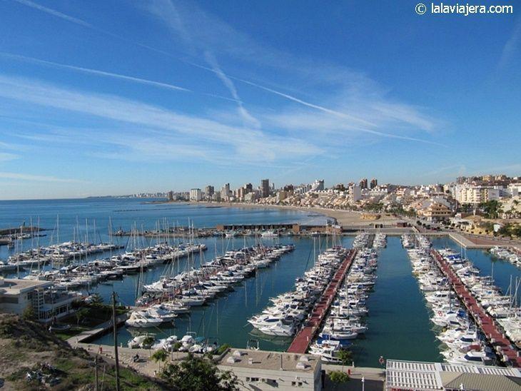 Panorámica de El Campello y su puerto deportivo