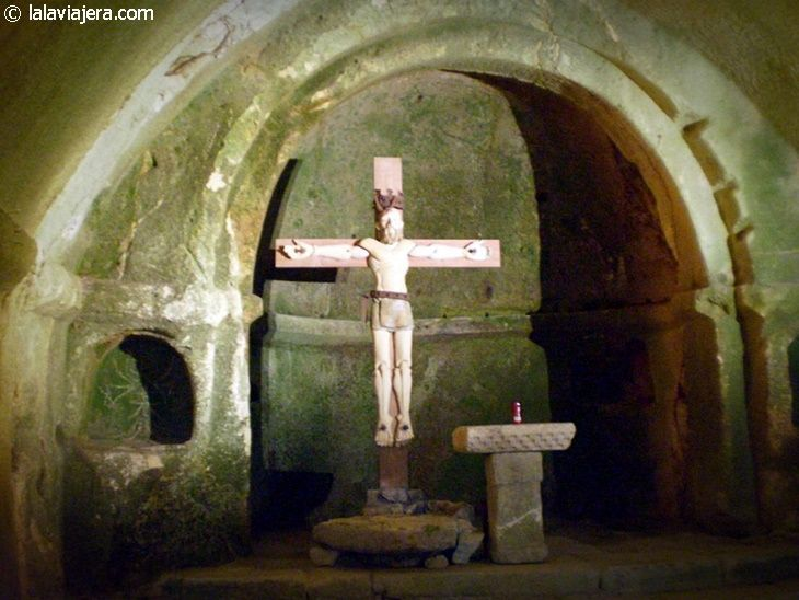Altar del Monasterio de San Pedro de Rocas