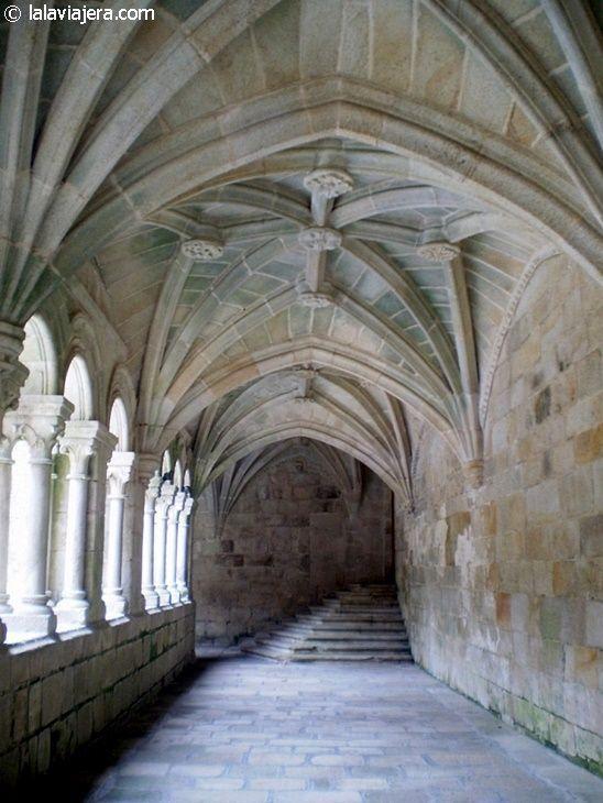 Claustro del Monasterio de Santo Estevo