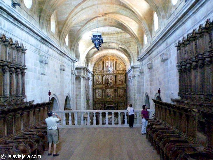 Interior de la Iglesia del Monasterio de Montederramo