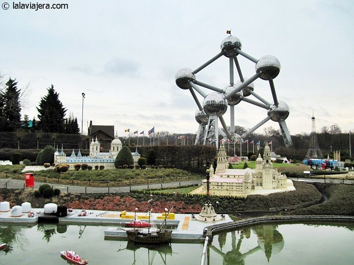 El Mini Europe, a los pies del Atomium