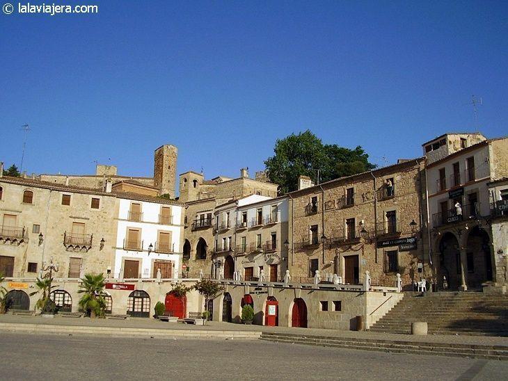 Casa de la Cadena en la Plaza Mayor de Trujillo