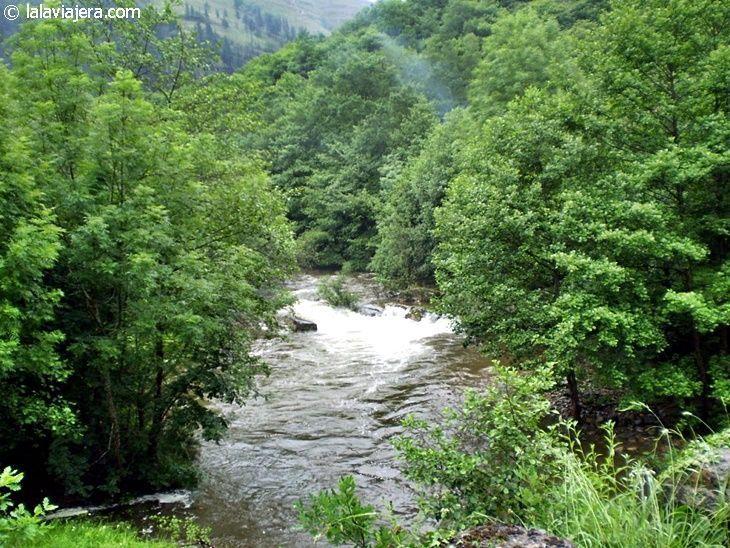 Río Saja en el Valle de Cabuérniga