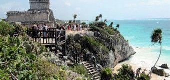 Tulum, la única ciudad maya en el Caribe mexicano