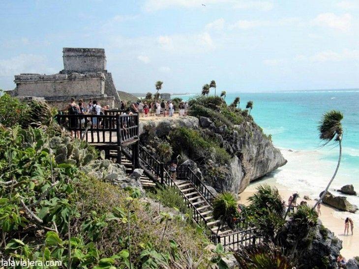 Ruta Maya: Tulum, única ciudad a orillas del mar Caribe