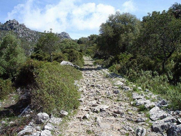 Calzada romana Ubrique-Benaocaz