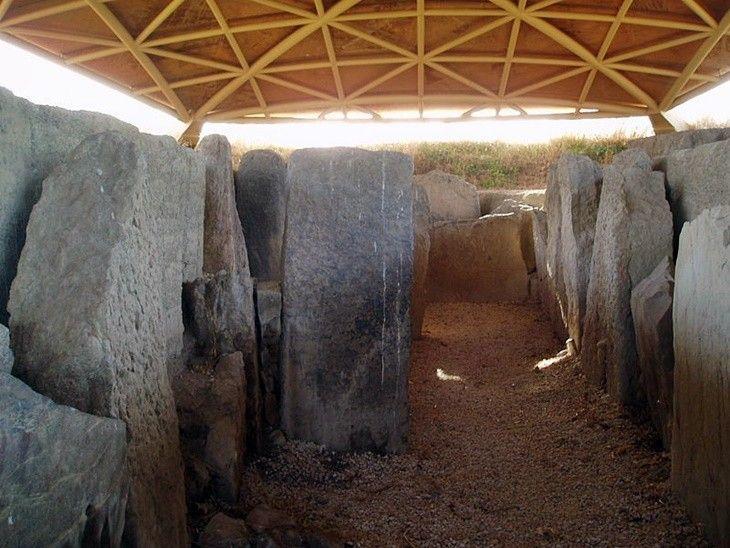 Dolmen de Alberite, en Villamartín
