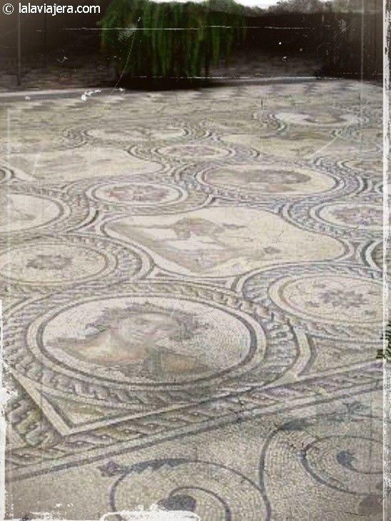 Mosaicos del Palacio de la Condesa de Lebrija, Sevilla