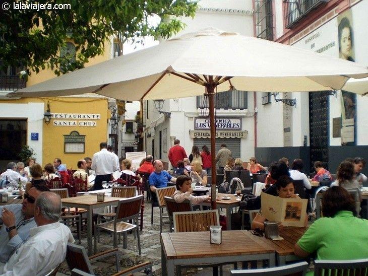 Plaza de los Venerables, Barrio de Santa Cruz, Sevilla